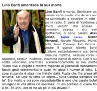 Morte fasulla Lino Banfi - Los Angeles - 29-12-2010 - Britney Spears è morta: il web si dispera, ma era una bufala