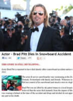 Brad Pitt - 30-07-2012 - Britney Spears è morta: il web si dispera, ma era una bufala