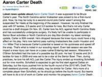Morte bufala Aaron Carter - Los Angeles - 29-12-2010 - Britney Spears è morta: il web si dispera, ma era una bufala