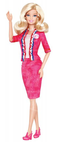 Barbie for president - 30-07-2012 - Presidenziali 2016, ecco Barbie presidente e vicepresidente