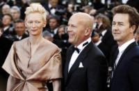 Edward Norton, Bruce Willis, Tilda Swinton - Cannes - 16-05-2012 - Scout Willis in punizione: 2 giorni ai servizi sociali