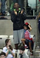 Gianna M, Natalia Diamante Bryant, Vanessa Laine Bryant, Kobe Bryant - Londra - 05-08-2012 - Kobe Bryant annuncia il ritiro: