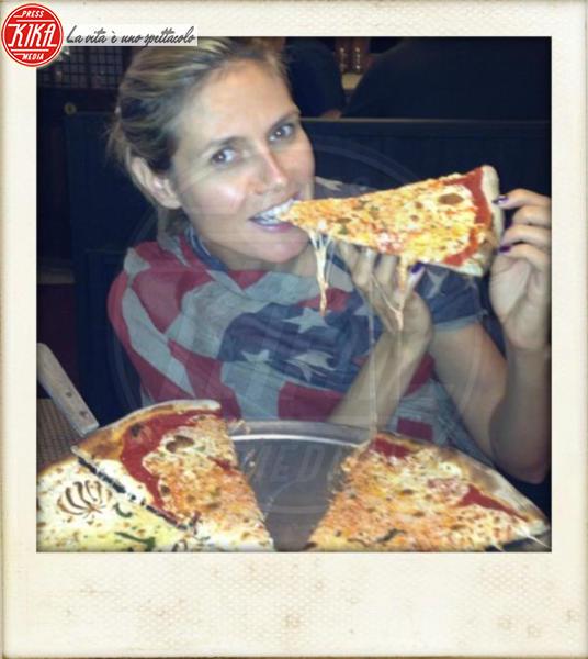 Heidi Klum - Los Angeles - 07-08-2012 - La pizza patrimonio dell'Unesco: ma le star lo sapevano già!