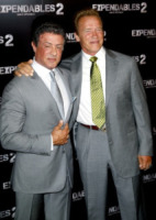 Sylvester Stallone, Arnold Schwarzenegger - 10-08-2012 - Rocky vs Drago, la rivincita