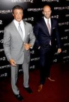 Sylvester Stallone, Jason Statham - Parigi - 10-08-2012 - Rocky vs Drago, la rivincita