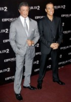 Jean Claude Van Damme, Sylvester Stallone - Parigi - 10-08-2012 - Rocky vs Drago, la rivincita