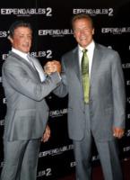 Sylvester Stallone, Arnold Schwarzenegger - Parigi - 10-08-2012 - Rocky vs Drago, la rivincita