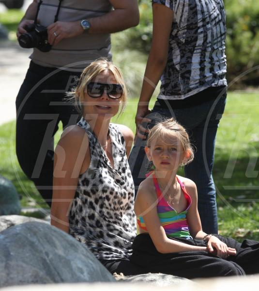 Leni Samuel, Heidi Klum - Beverly Hills - 07-05-2012 - I felini invadono Hollywood