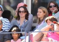 Martina Hingis - New York - 11-09-2010 - Quando le celebrity diventano il pubblico