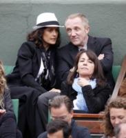 François-Henri Pinault, Salma Hayek - Parigi - 31-05-2010 - Quando le celebrity diventano il pubblico