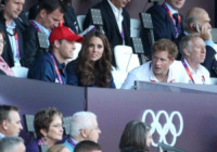 Principe William, Kate Middleton, Principe Harry - Londra - 06-08-2012 - Quando le celebrity diventano il pubblico