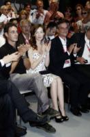 Francesco Patierno, Cristiana Capotondi - Venezia - 06-09-2011 - Quando le celebrity diventano il pubblico