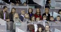 Re Felipe di Borbone, Sofia di Spagna, Letizia Ortiz - Madrid - 22-12-2010 - Quando le celebrity diventano il pubblico