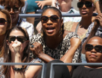 Serena Williams - New York - 05-09-2010 - Quando le celebrity diventano il pubblico