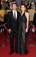 """Angelina Jolie, Brad Pitt - Los Angeles - 29-01-2012 - Brad Pitt: """"Stare con la mia famiglia significa tutto per me"""""""