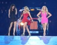 Spice Girls, Emma Bunton, Geri Halliwell, Victoria Beckham - Londra - 13-08-2012 - Spice reunion al party per i 40 anni di Victoria Beckham