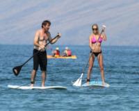 Kimberly Quaid, Dennis Quaid - Honolulu - 22-10-2011 - Lo sport? Decisamente è meglio in coppia...