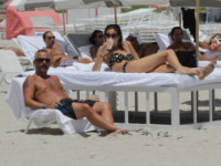 Marica Pellegrinelli, Eros Ramazzotti - Miami - 19-08-2012 - Ramazzotti- Pellegrinelli: l'annuncio strappalacrime