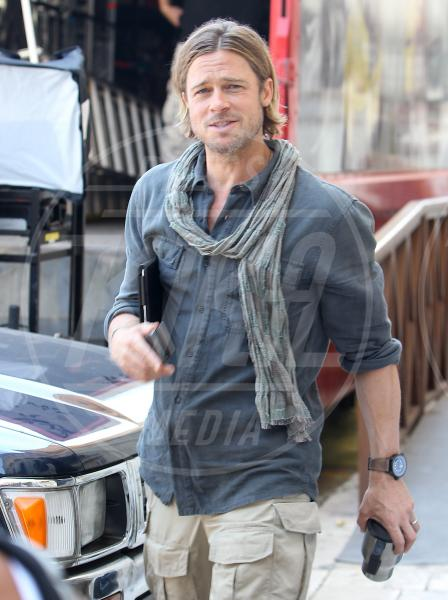 Brad Pitt - Valletta - 01-03-2013 - Per Brad Pitt il sequel di World War Z è possibile