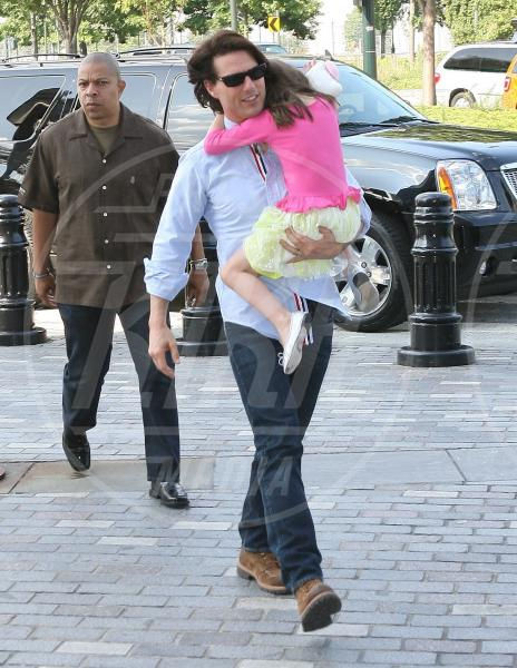 Suri Cruise, Tom Cruise - New York - 08-08-2011 - Papà single:   mammi di Hollywood