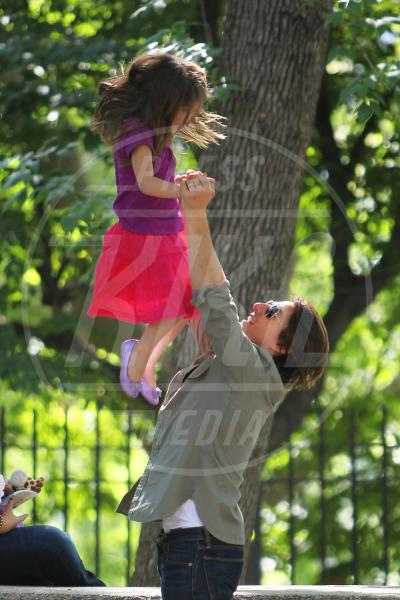 Suri Cruise, Tom Cruise - New York - 07-09-2010 - Papà single:   mammi di Hollywood