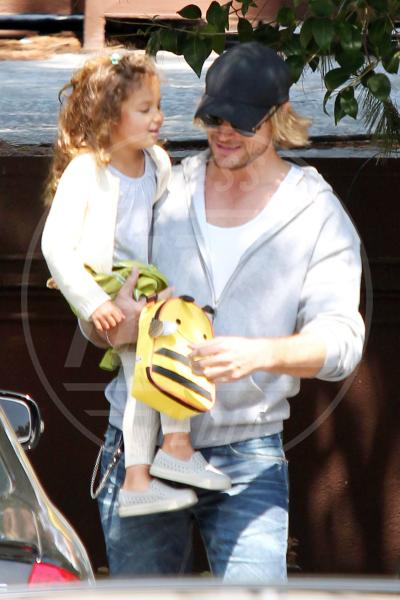 Nahla Ariela Aubry, Gabriel Aubry - Los Angeles - 10-04-2012 - Papà single:   mammi di Hollywood