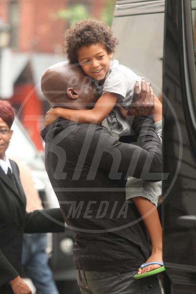 Johan Riley Samuel, Seal - New York - 19-07-2012 - Papà single:   mammi di Hollywood