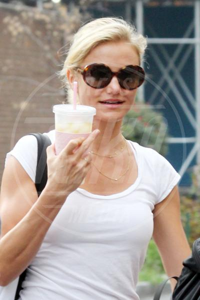 Cameron Diaz - New York - 28-08-2012 - Dal libro delle celebrities: il comandamento del dito medio