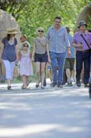 Larry Williams, Matilda Ledger, Jason Segel, Michelle Williams - New York - 31-08-2012 - Michelle Williams allo zoo con tutta la famiglia