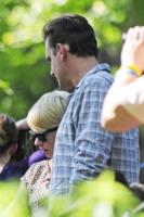 Jason Segel, Michelle Williams - New York - 31-08-2012 - Michelle Williams allo zoo con tutta la famiglia