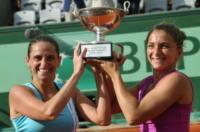 Sara Errani, Roberta Vinci - New York - 05-09-2012 - Errani-Vinci trionfano sull'erba di Wimbledon