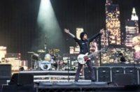 Green Day - Londra - 19-06-2010 - I Green Day sul palco dei Video Music Awards