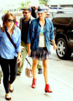 Marion Cotillard - Los Angeles - 05-09-2012 - Vic Beckham, la più chic in aeroporto secondo British Airways