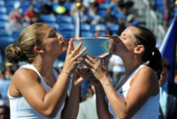 Sara Errani, Roberta Vinci - New York - 09-09-2012 - Errani-Vinci trionfano sull'erba di Wimbledon