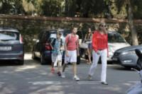 Pablo Urdangarin, Juan Urdangarin, Cristina di Borbone - Barcellona - 05-09-2012 - Star come noi: quando la school run è