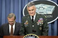 Hugh Shelton, Donald Rumsfeld - New York - 18-09-2012 - 11 settembre 2001: dodici anni fa l'attacco alle Twin Towers