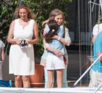 Victoria Federica, Sofia di Spagna - Palma di Maiorca - 06-08-2012 - 2 ottobre: festa dei nonni… anche vip!