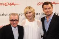 Martin Scorsese, Vera Farmiga, Leonardo DiCaprio - Roma - La Cina censura il film di Scorsese
