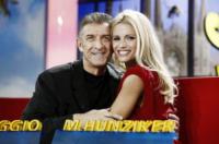 Michelle Hunziker, Ezio Greggio - Milano - 21-09-2012 - Michelle Hunziker e Belen, la nuova coppia di Striscia