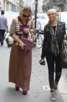 Francesca Senette - Milano - 22-09-2012 - Settimana della moda: Giuseppe Zanotti apre ai vip la sua boutique