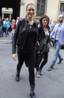 Alena Seredova - Milano - 22-09-2012 - Settimana della moda: Giuseppe Zanotti apre ai vip la sua boutique