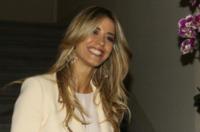 Elena Santarelli - Milano - 22-09-2012 - Settimana della moda: Giuseppe Zanotti apre ai vip la sua boutique