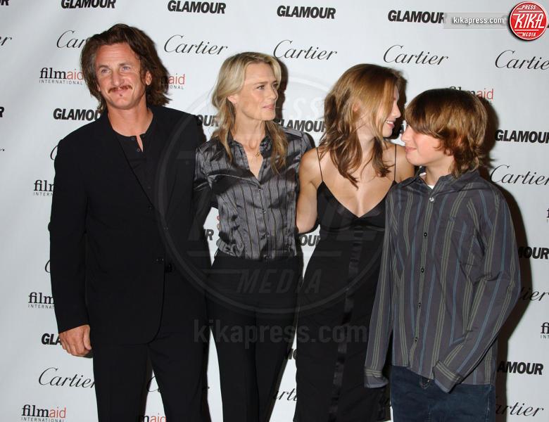 Robin Wright, figlia, figlio, Sean Penn - West Hollywood - 16-10-2006 - Sean Penn e Amber Heard, il nuovo amore di Hollywood