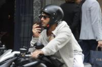 Carlos Corona, Fabrizio Corona - Milano - 23-09-2012 - La trasformazione di Andrea Iannone in... Fabrizio Corona!