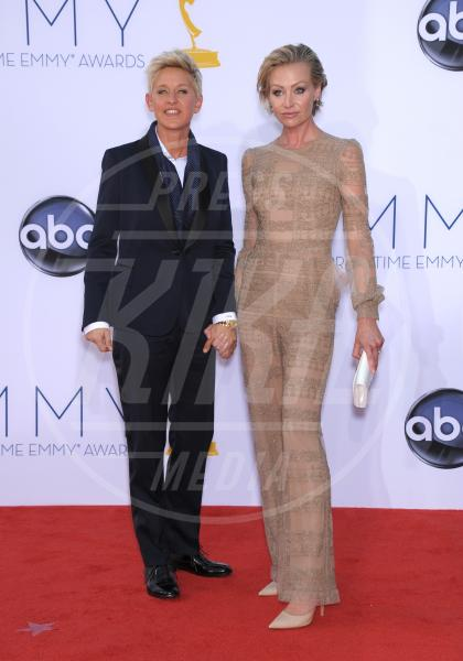 Ellen DeGeneres, Portia De Rossi - Los Angeles - 23-09-2012 - Cara, Michelle e le altre: quando lei & lei sono in coppia