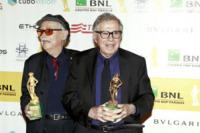 Paolo Taviani, Vittorio Taviani - Roma - 04-05-2012 - Lutto nel mondo del cinema: morto il regista Vittorio Taviani