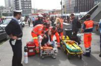 metropolitana - Milano - 26-09-2012 - Tragedia sfiorata nella metrò a Milano