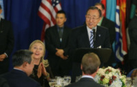 Ban Ki-moon, Hillary Clinton - New York - 28-09-2012 - Hillary Clinton: