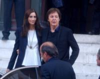 Nancy Shevell, Paul McCartney - Parigi - 01-10-2012 - Johnny Depp e Kate Moss di nuovo insieme per Paul McCartney