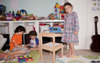Olivia Curto, Nicholas, Thomas - 03-10-2012 - Erika Di Martino e l'homeschooling:la scuola fuori dalla scuola!
